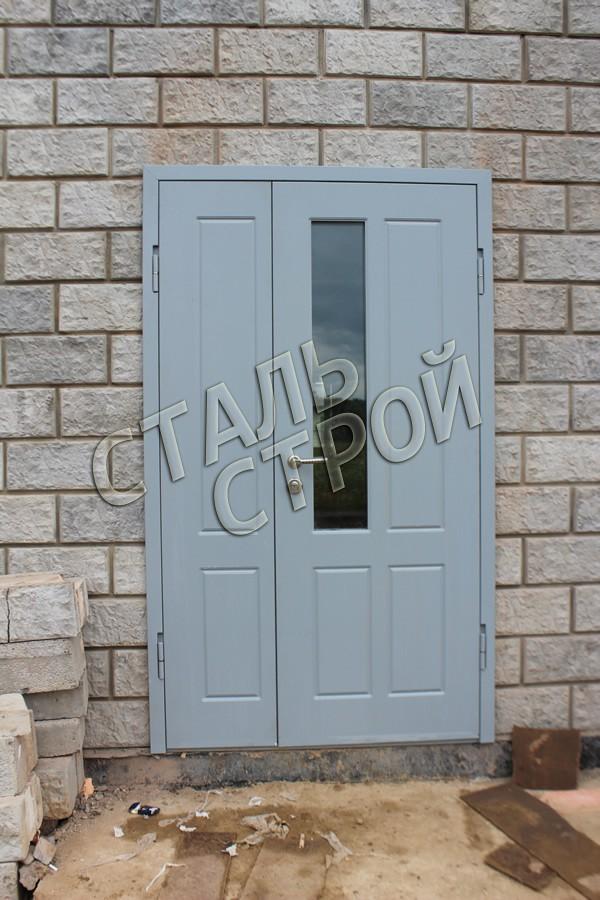 металлические порошковые двери в сао
