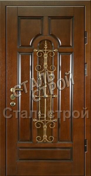 входные металлические двери с ковкой для загородного дома