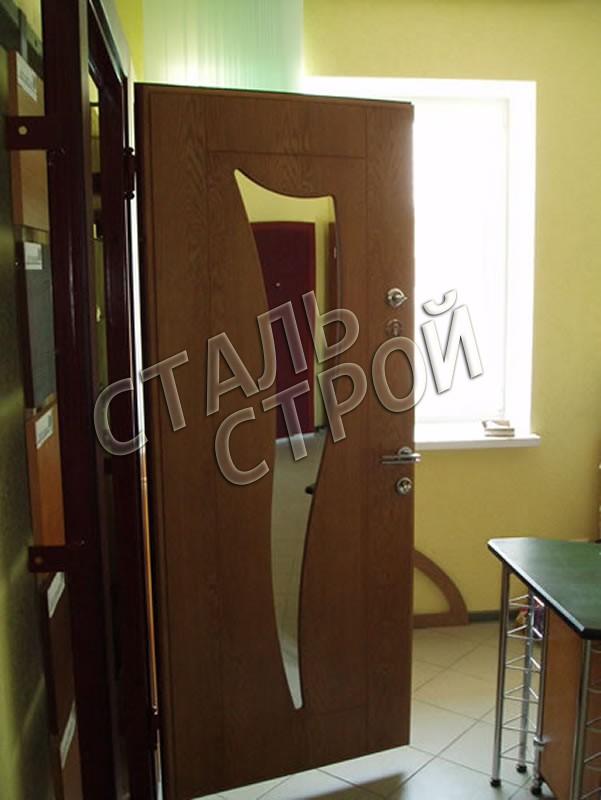 металлические двери с зеркалом от производителя москва