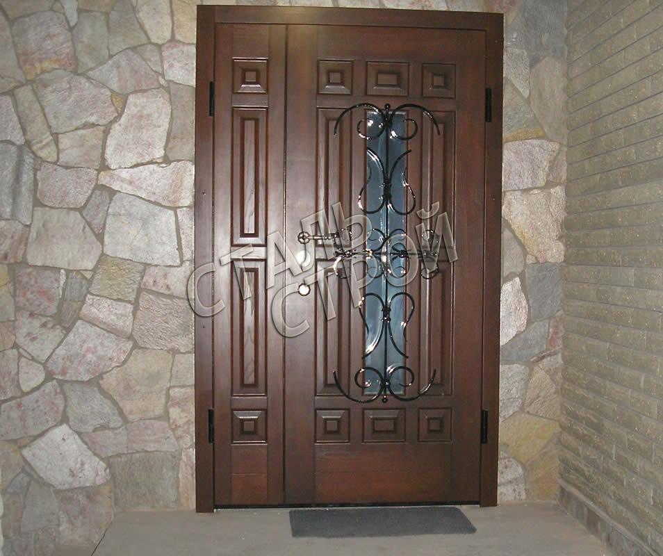 белая входная дверь эксклюзив