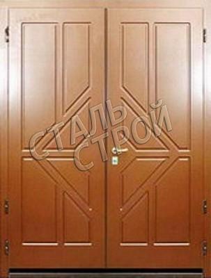 тамбурная стальная дверь эконом класса