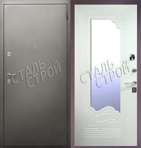 входные двери с зеркалом внутри в балашихе