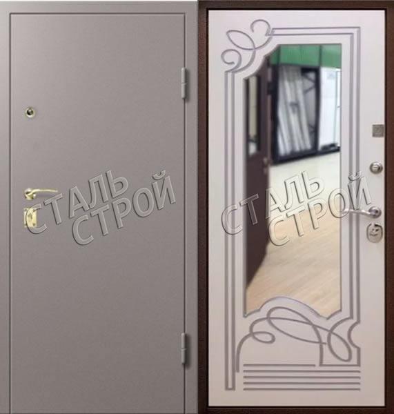 входные двери нахабино с зеркалом